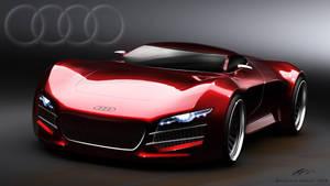 Audi R10 front