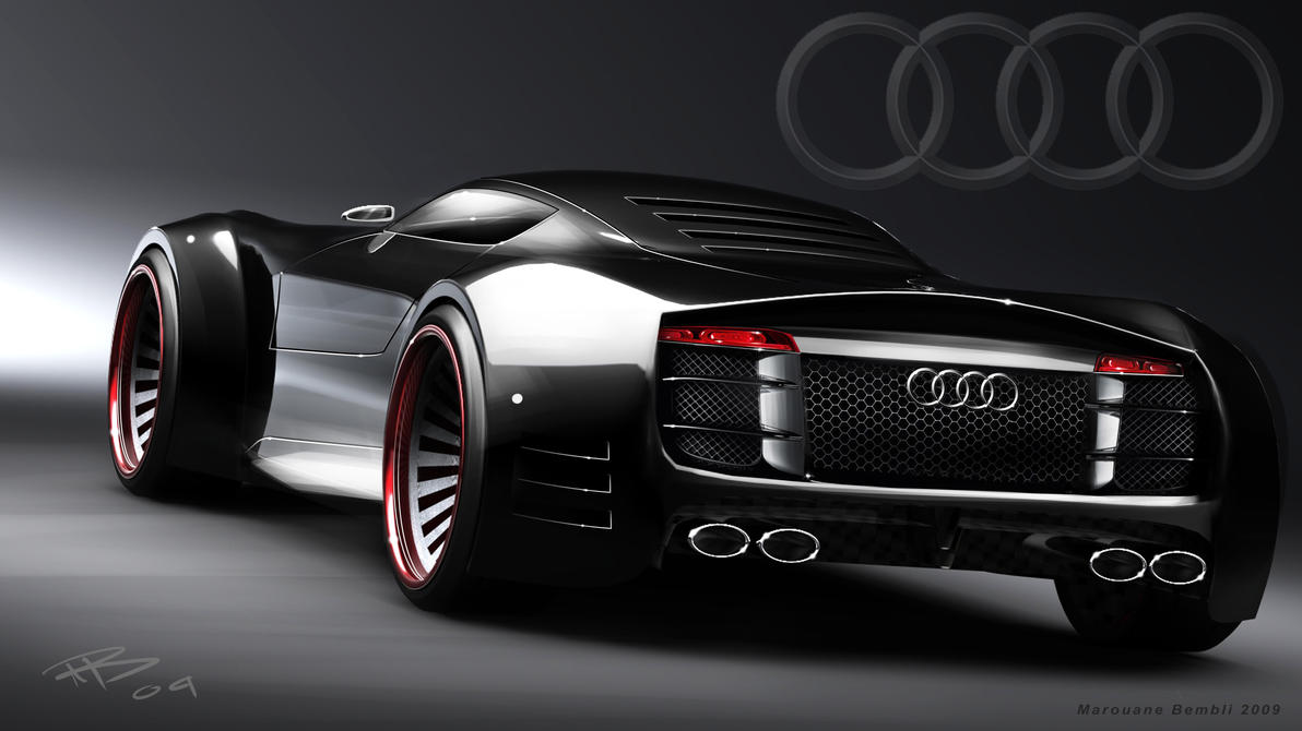 Audi R10 rear by bembli on DeviantArt