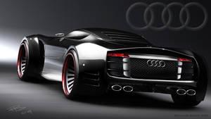 Audi R10 rear by bembli