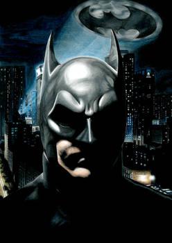 Gotham's Protector    Batman Portrait
