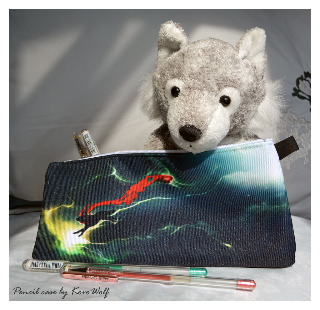Pencil Case by KovoWolf by Stygma