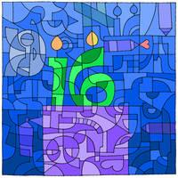 Happy 16th Birthday DeviantArt! by Stygma