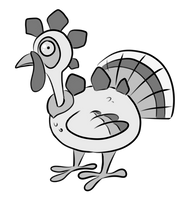 Turkeysaurus by Stygma