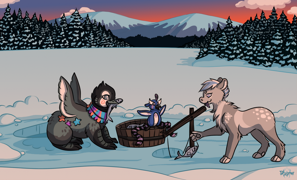 Disaster Event part 2.2 and 3 - Fishing time! by Stygma
