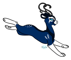 Fantasy antlers for Frosttwig by Stygma