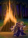 The Fire Dance by Stygma