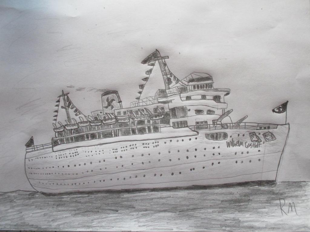 MV Wilhelm Gustloff by Remyfox819