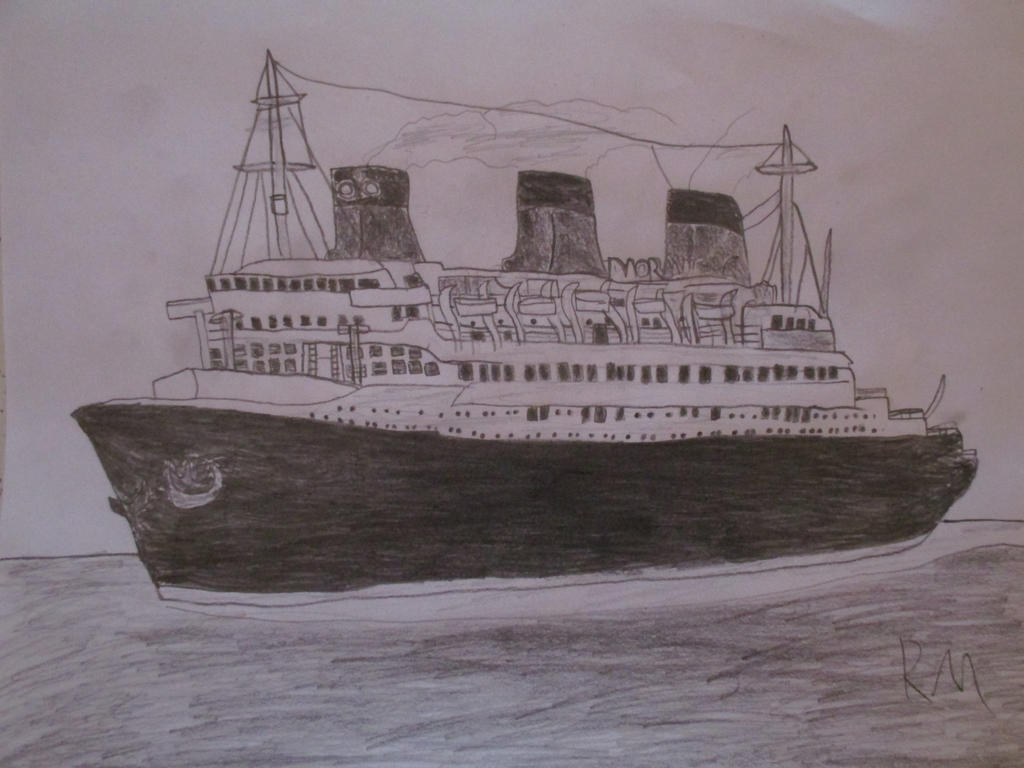 SS Normandie by Remyfox819
