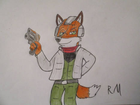 Halloween 2021: Remy as Fox McCloud