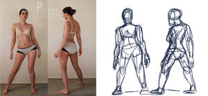 Character Design: Gesture Drawing by cookieandpandasBS