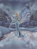 FROZEN -- Dark Elsa by resa-challender