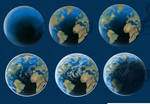 The Earth WIP -- In Stages by resa-challender