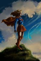 Supergirl Fanart by Resa by resa-challender