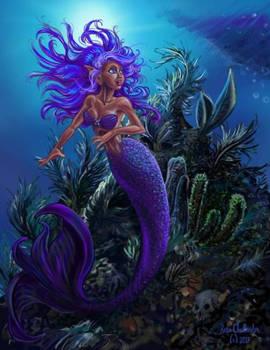 Under the Sea by Resa Challender aka Teri S. Wood