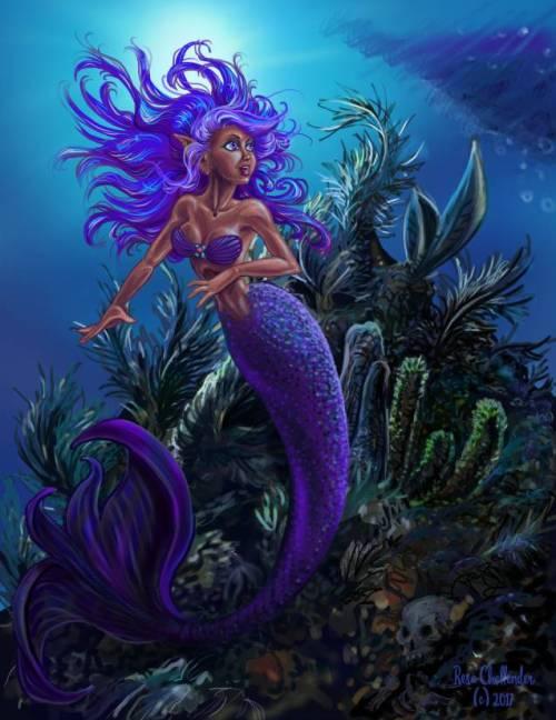 Under the Sea by Resa Challender aka Teri S. Wood by resa-challender