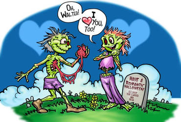 Zombie Love by Resa Challender