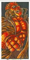 Quarantine 2020 fanart Hellboy