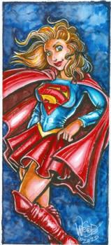 Supergirl Quarantine Fanart 2020