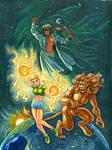 Commission of Brian Daniels' Terra Force