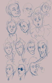 Learning Faces sketchies