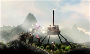 Battle of Titans by JuavT