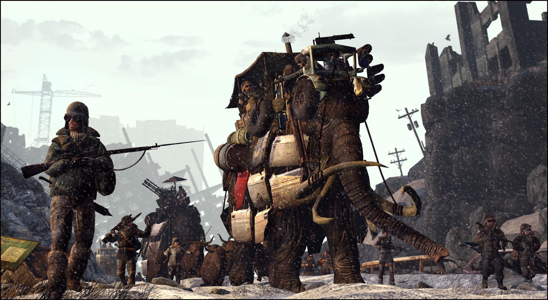 Armored caravan by JuavT