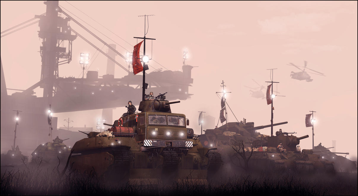 Machines of war by JuavT