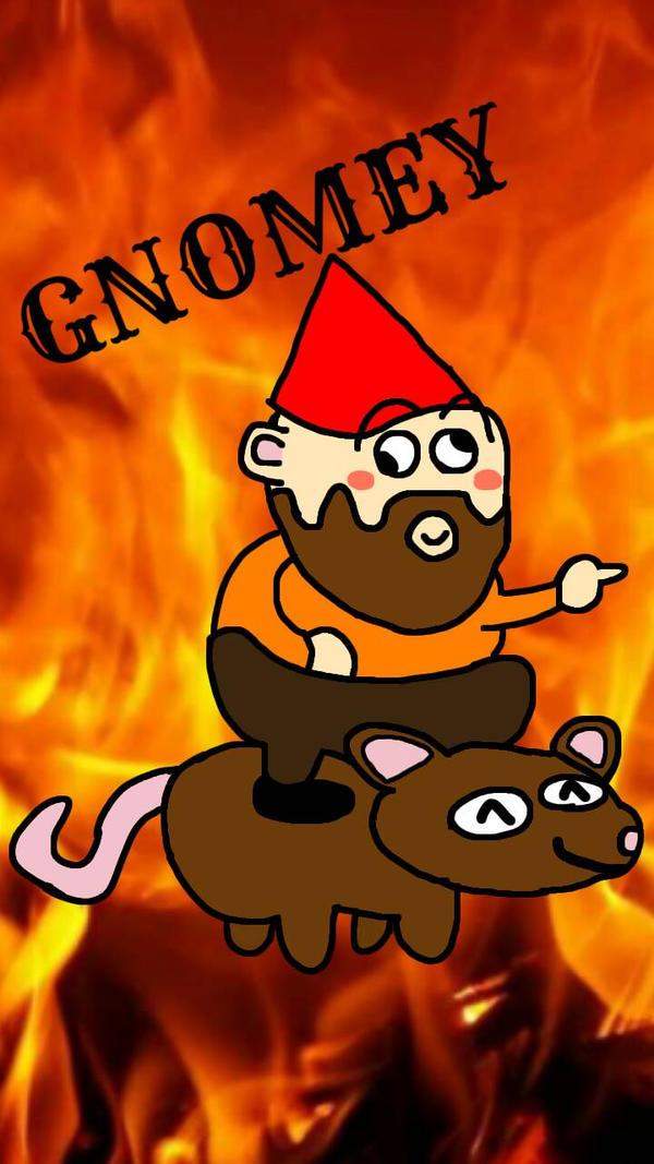 Gnomey by zombiebeast
