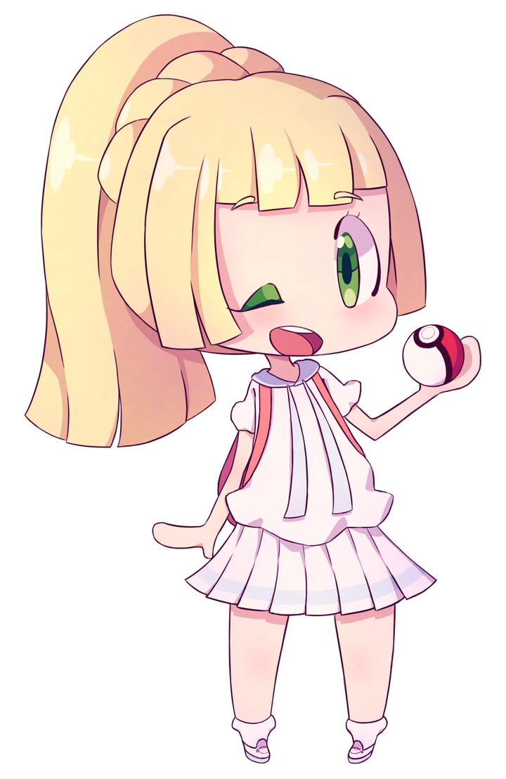 Lillie Again by PurpleMangaPowers