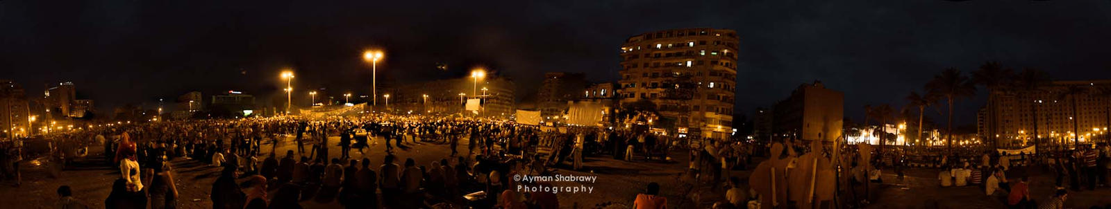 Tahrir Square by shabrawyz
