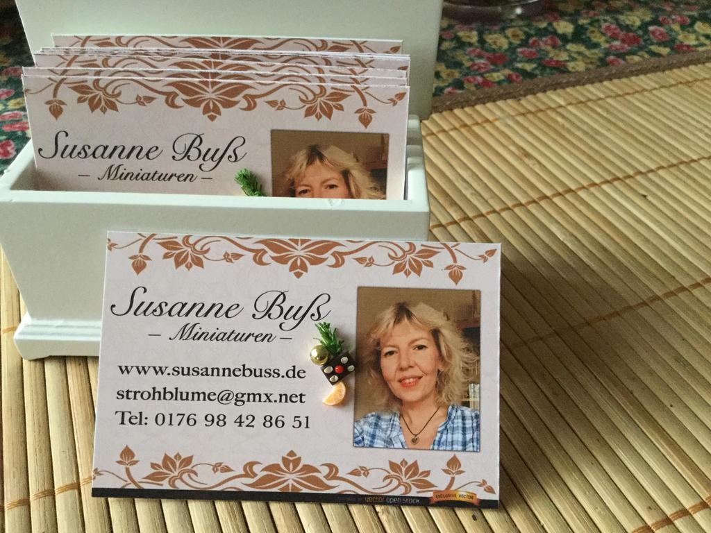 Meine Visitenkarten by Susanne-Buss
