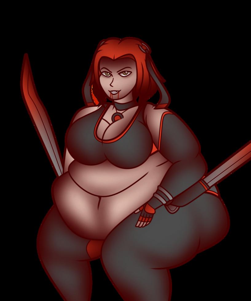 Half Human, Half Vampire, 100% Overweight by KyillaKuween