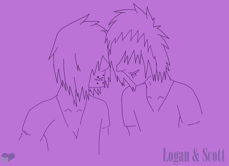 Logan and Scott - Spirit Day by shadowwolf737