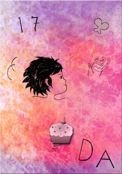 DeviantART 17th Birthday Pink Cake Plz