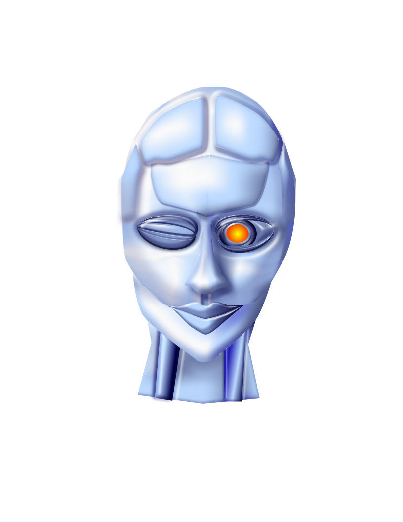 Pin Cool-robot-face-resolution-1366x768-321 on Pinterest