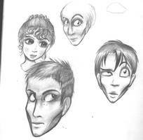 All hair, eyes, and cheekbone by Tsyris