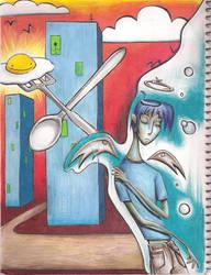 Marmalade City: Darcy Angel by Tsyris