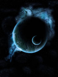 Black Hole Moon by Neo2009