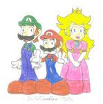 Mario, Luigi n' Princess Peach
