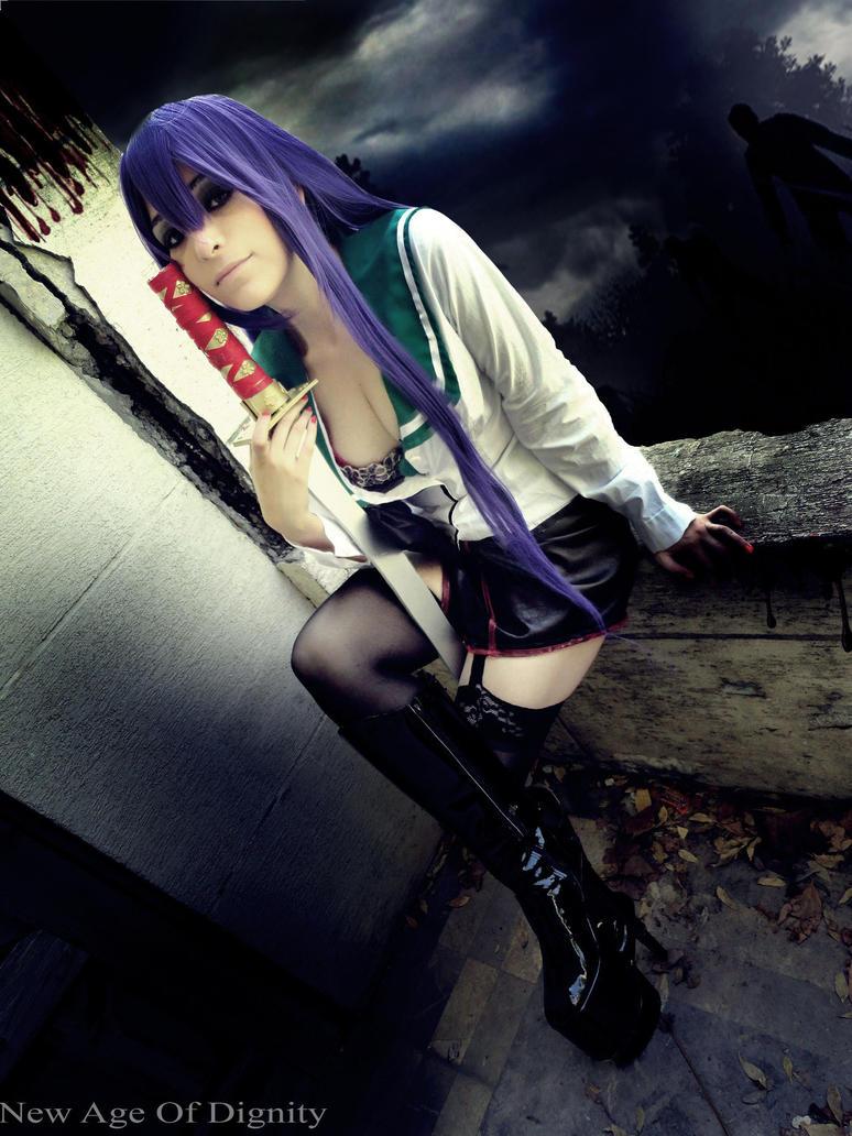 Saeko Busujima Cosplay by Nao-Dignity