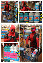 Deadpool at Walmart by Nao-Dignity