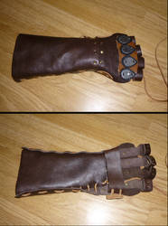 AC Syndicate Inspired Gauntlet MARK 1 (WIP 2) by FijettCraft