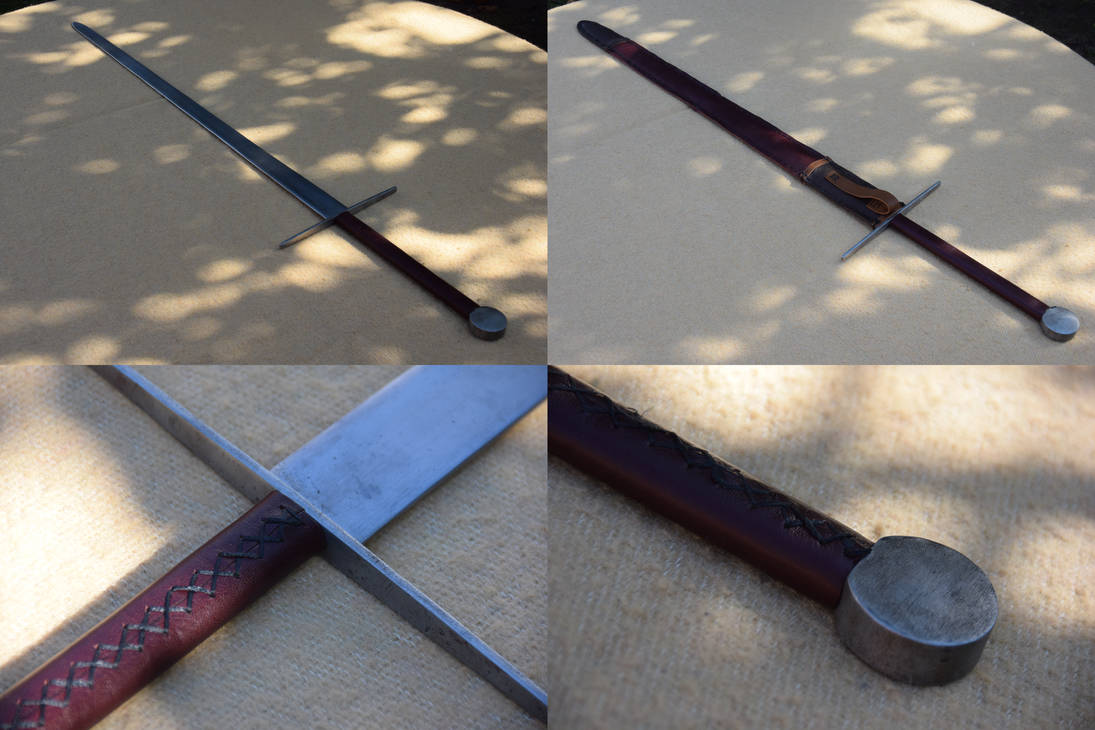 Longsword II with Scabbard by FijettCraft