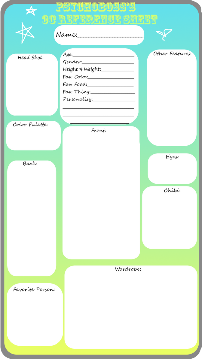 blank reference sheet template koni polycode co
