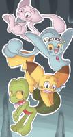 Pokemon Mystery Dungeon Team by TheSparkledash