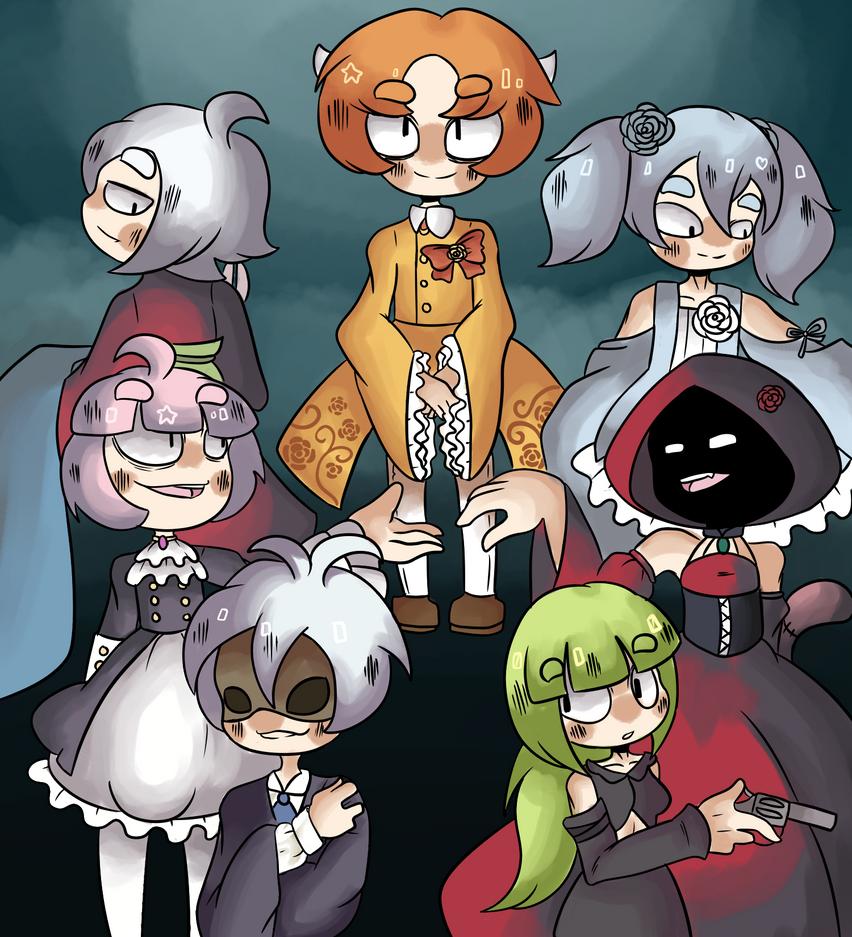 Seven deadly sins by TheSparkledash