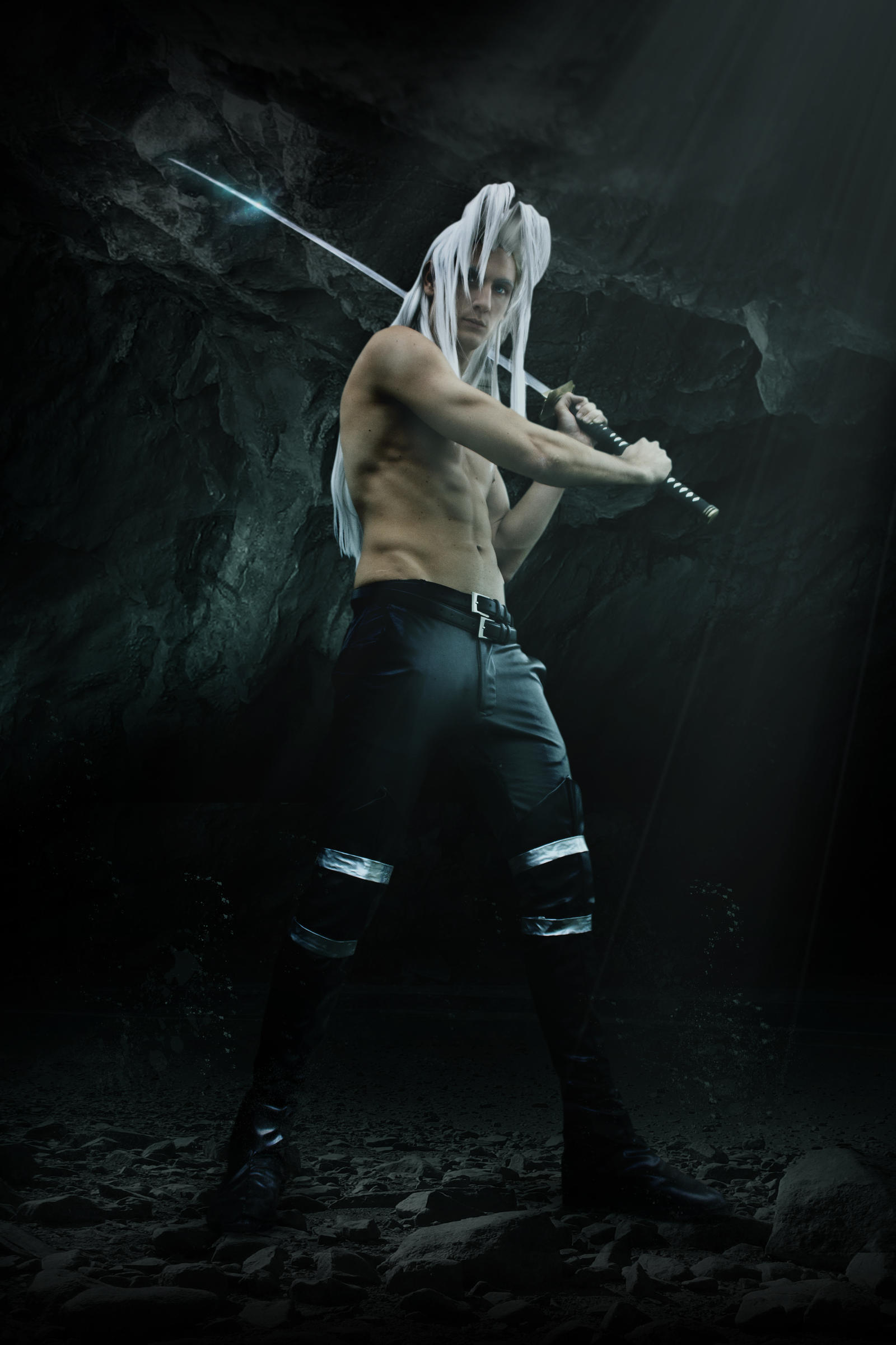 Sephiroth Cosplay by Baku-Project