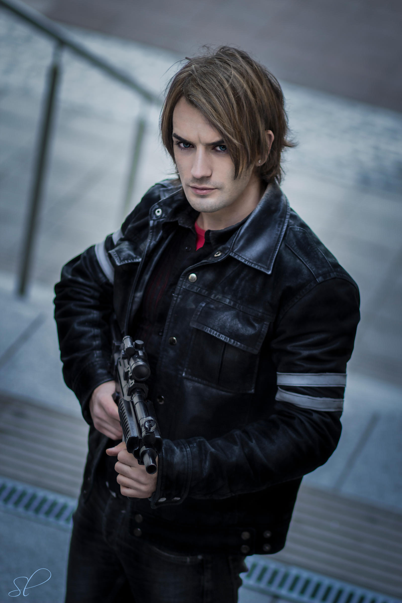 Resident Evil 6 Leon Hairstyle Giftsforsubs