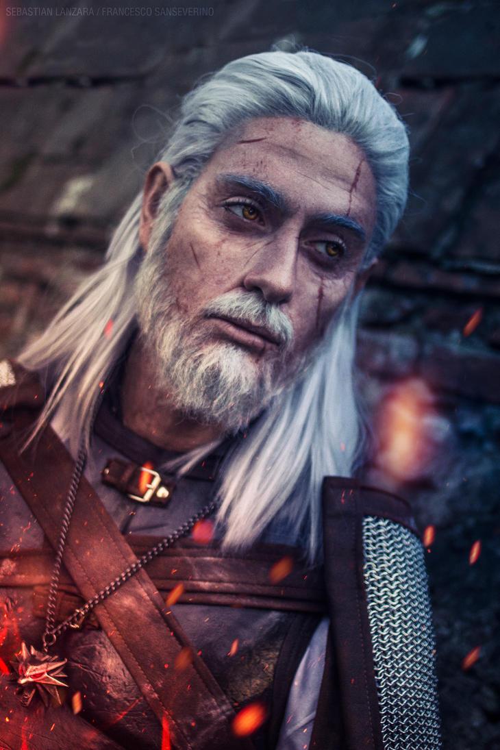 Geralt of Rivia by Baku-Project