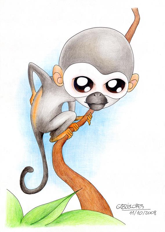 Macaco-de-cheiro by gabrielopes